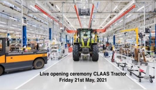 Claas otvara novu tvornicu traktora u Le Mans